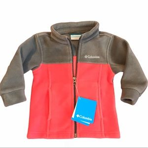 Columbia Toddler Fleece Jacket Size 12-18months